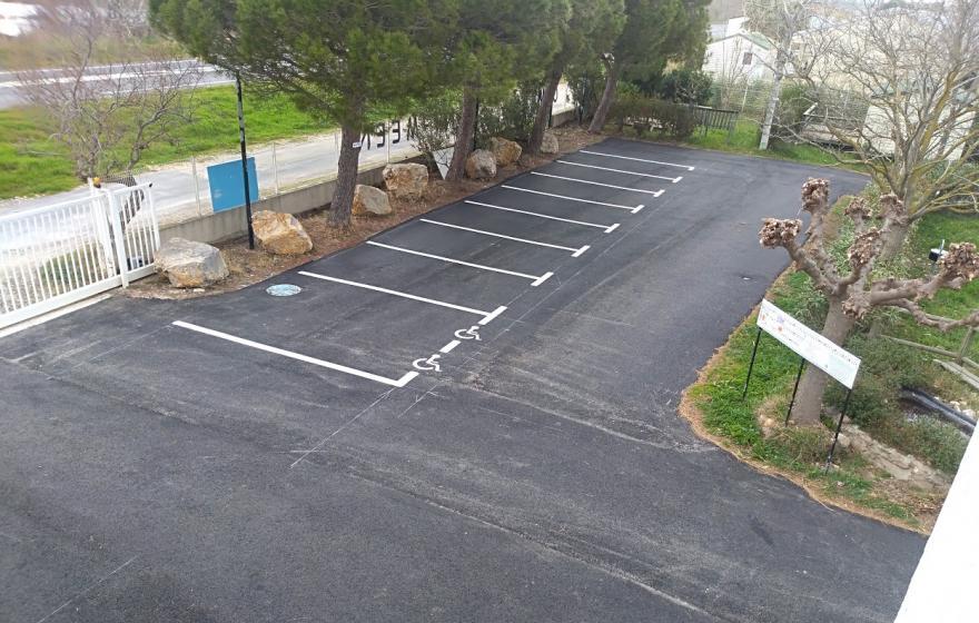 parking prêt !